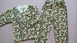 Пижама теплая, велсофт, размер 56 (0955-04)
