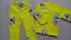 Пижама теплая, велсофт, размер 52 (0955-05)