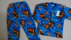 Пижама теплая, велсофт, размер 56 (0955-06)