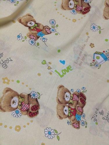 Детский постельный комплект, бязь, 100% хлопок (0301)