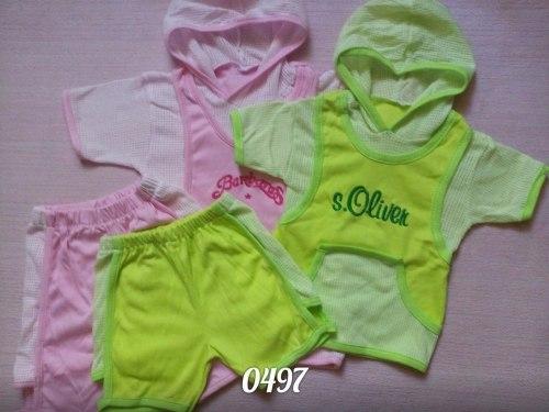 Комплект детский, интерлок+сетка, вышивка (0497)
