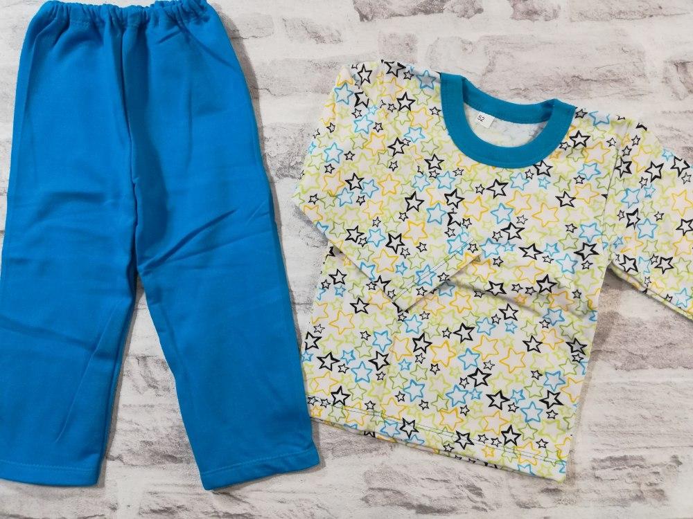 c7a110ece7165 Купить пижама детская теплая, начес, размер 52 (0744-06) — интернет ...