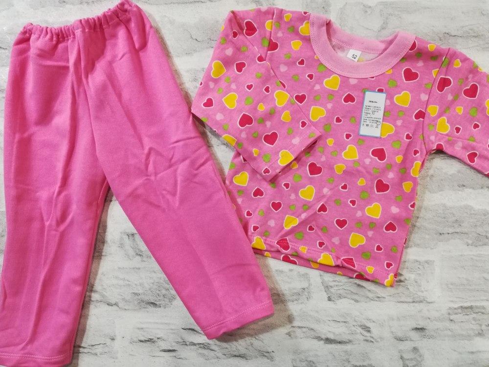 264e8e1a40e47 Купить пижама детская теплая, начес, размер 52, 56, 60, 68 (0744-08 ...