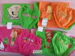 Комплект майка+трусики для девочки, накат,кулир (03091)