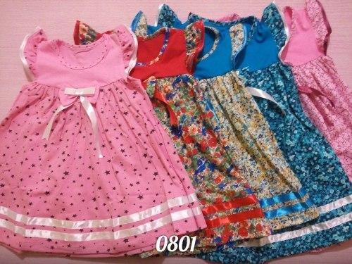 Платье, кулир набивной (0801)