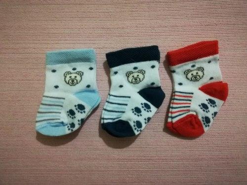 Носочки для новорожденных, 0-3 мес. (0837)