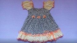 Платье, кулир комбинированный (0850)