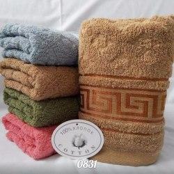 Полотенца махровые, лицевое и банное (0831)