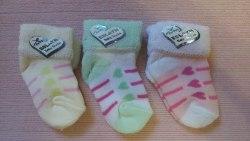 Носочки махровые для новорожденных (0943)