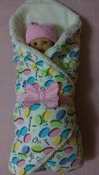Конверт-одеяло зимний для новорожденных (1024)