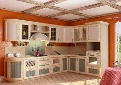 Кантри кухня (Сонома эйч светлая)