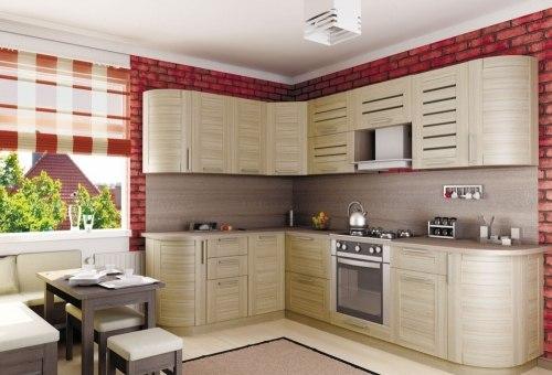 Анастасия Тип-3 кухня (Сонома)
