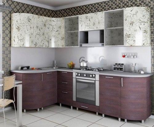 Анастасия Тип-3 кухня (Орхидея)