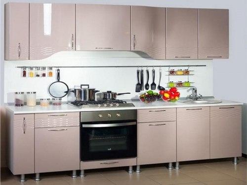 Анастасия Тип-3 кухня (Капучино бархан)