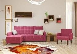Квадро диван-кровать угловой
