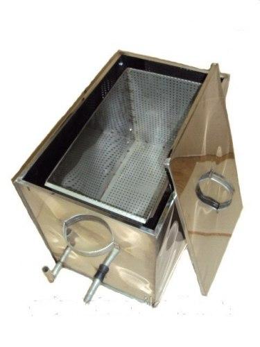 ВОСКОТОПКА ПАРОВАЯ РАМОЧНАЯ на 7-рамок (нержавеющий металл)