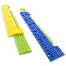 Летковый заградитель 2-х элементный нижний цветной пластмас. на нижний леток
