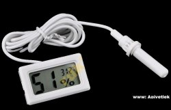 Контрольный датчик температуры и влажности в улье (на батарейках)