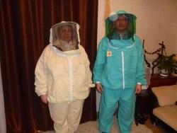 Костюм пчеловода на молнии (ткань х/б, бязь) цветной