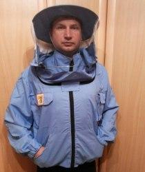 """Куртка пчеловода """"ЕВРО"""" на молнии (ткань поликаттон) цветной"""