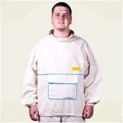 """Куртка пчеловода """"Двунитка"""" (ткань белая двунитка)"""