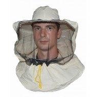 Сетка защитная лицевая. под халат (ткань бязь) цвет белый