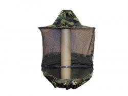 Сетка лицевая защитная Камуфляжная (ткань нейлон, тюль по кругу) цветная