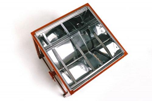 СТОЛ ДЛЯ РАСПЕЧАТКИ СОТОВЫХ РАМОК - L=500 ММ (нержавеющий металл) с крышкой