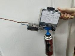 Фумигатор для лечения от клеща варроа (дым-пушка)