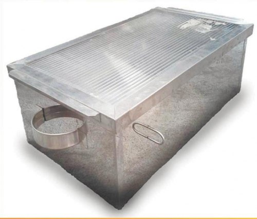 ВОСКОТОПКА СОЛНЕЧНАЯ С КРЫШКОЙ (нержавеющий металл)