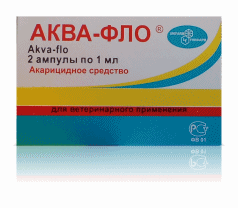 АКВА-ФЛО (жидкость 2 ампулы)