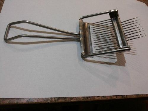 Вилка - культиватор для распечатки сотов (нержавеющий металл)