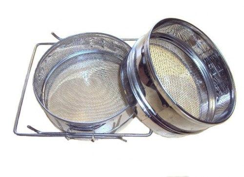 Сито-фильтр для меда увеличенное нержавейка (диаметр 300 мм. )
