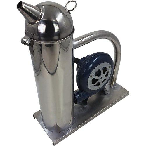 Дымарь пасечный механический (нержавеющий металл) механический привод