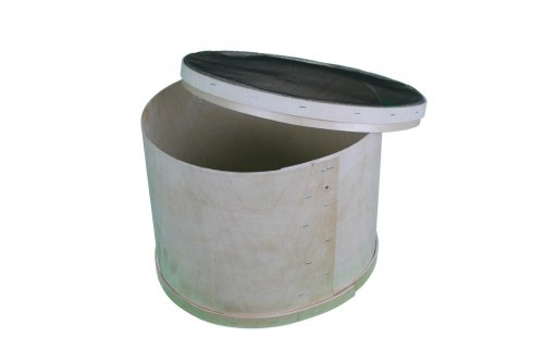 Роевня круглая переносная (из фанеры)