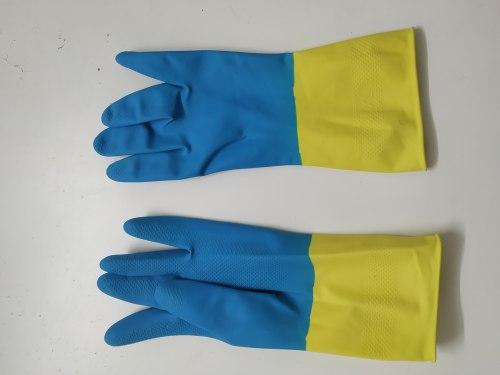 Перчатки защитные прорезиненные