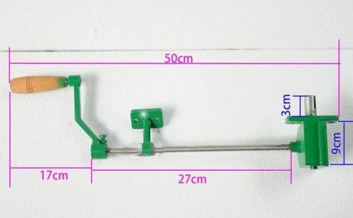 Редуктор медогонки с ручкой (металлический корпус)