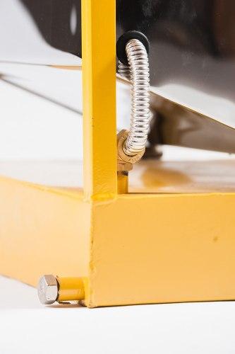 ПАРОВАЯ ВОСКОТОПКА С ПАРОГЕНЕРАТОРОМ на 12 рамок Оцинкованная сталь