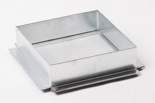 Фильтр квадратный на куботейнер одинарный нержавейка