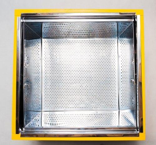 ПАРОВАЯ ВОСКОТОПКА С ПАРОГЕНЕРАТОРОМ на 12 рамок нержавеющая сталь (марка стали Аisi 430)
