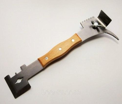 Стамеска многофункциональная с деревянной ручкой (нержавеющий металл )