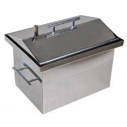 Коптильня для горячего копчения (нержавеющий металл AISI430)