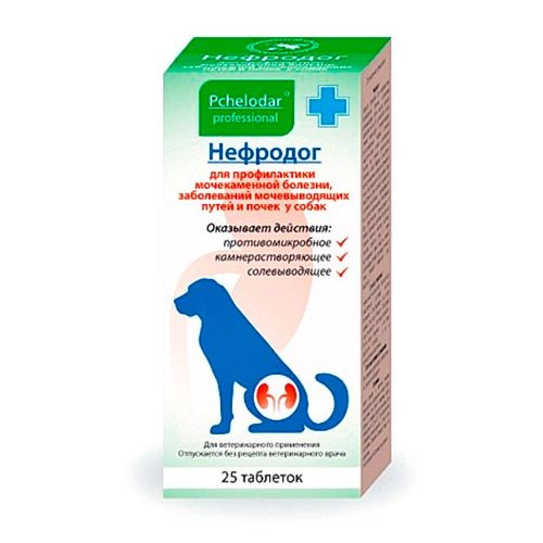 Нефродок таблетки для собак