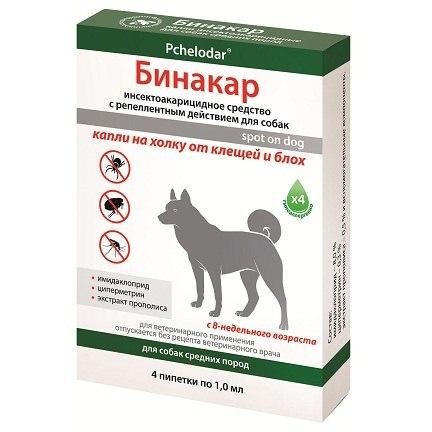 Препараты для животных от блох и клещей 1 ампула