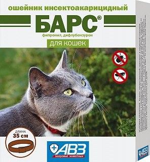 Ошейник против блох и клещей для собак и кошек