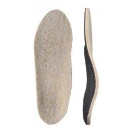 Детские Детские ортопедические стельки с покрытием из натуральной шерсти «ЗИМА»