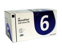 Иглы НовоФайн 6 мм (NovoFine) №100 Novo Nordisk