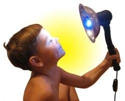 """Лампа синяя к Рефлектору """"Ясное солнышко"""""""