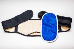 Пояс-корсет магнито-ортопедический с ребрами жесткости