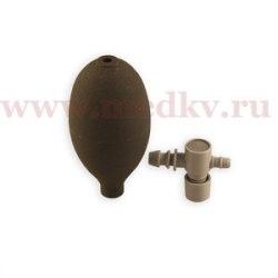 Нагнетатель с выпускным клапаном для полуавтоматических тонометров